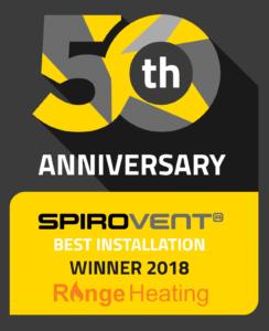 SpiroVent 50th Winner Range Heating