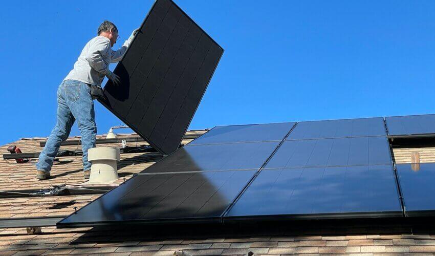 Solar panel boilers